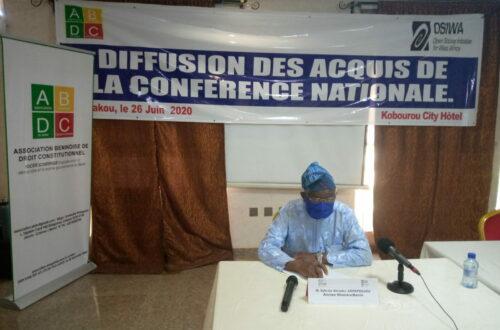 Article : Bénin ! Quelques acteurs politiques racontent la conférence nationale des forces vives de la Nation de février 90