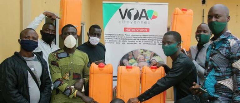 Article : Un tour à Porto-Novo pour donner vie aux bidons d'eau usagers