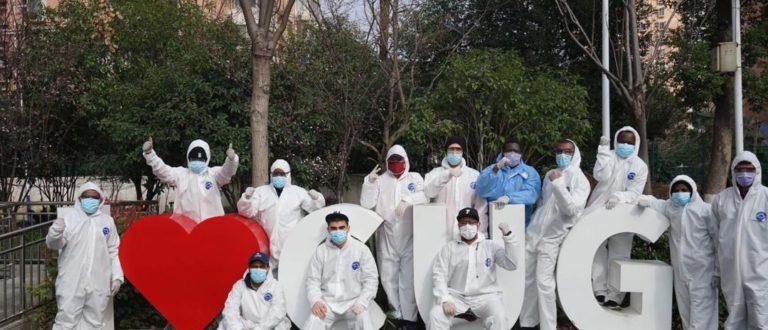 Article : Un béninois au coeur de la lutte contre la Covid-19 à Wuhan