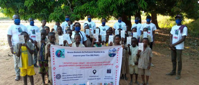 Article : Initiative Asuka : la jeunesse de Paouignan prêts pour la riposte Covid 19